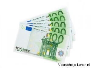 Doorlopend Krediet 500 euro lenen